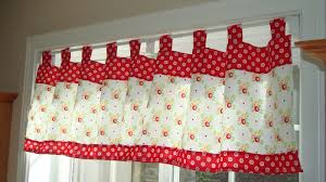 black and red kitchen curtains diy retro kitchen curtains the new way home decor