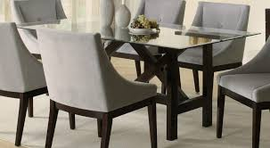 glass dining room sets folding dining tables modern home design
