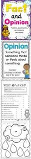 Comprehension Worksheets For Grade 8 128 Best Fact U0026 Opinion Images On Pinterest Worksheets Fact And