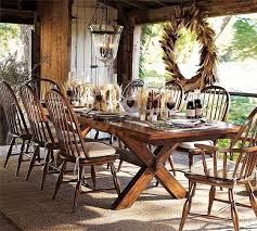 Dining Room Table Decor Ideas 30 Ideas For Thanksgiving Decorating In Eco Style Turning Fall