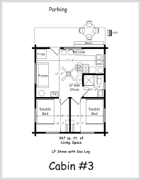 bedroom cabin floor plans inspirations and two cottage images