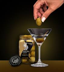 vodka martini with olives spanish olives stuffed with vermouth for your martini 13 35 oz