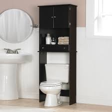 rustic over the toilet storage ladder toilet decoration