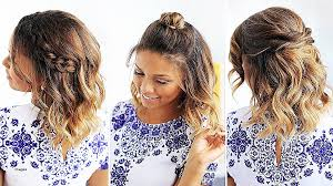 easy and simple hairstyles for school dailymotion curly hairstyles new cute easy hairstyles for medium curly hair