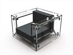Lc3 Armchair A Transparent Twist On Le Corbusier U0027s Lc3 Armchair Core77