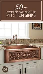 Old Farmhouse Kitchen Cabinets Best 25 Copper Farmhouse Sinks Ideas On Pinterest Copper Sinks