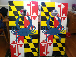 Baltimore Flag Maryland Flag And Crab Boards Nailed It Pinterest