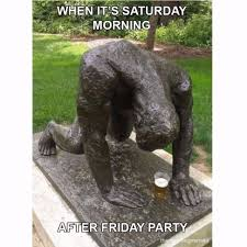 Morning After Meme - saturday morning after friday party russian memes