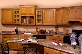 quartz countertops with oak cabinets kitchen image kitchen bathroom design center
