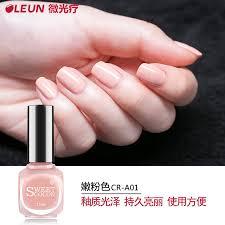 buy sweet color green shimmer lasting nail polish drying