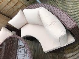 Yakoe Garden Furniture Yakoe 10 Seater Round Dining Set Rattan Garden Furniture Patio