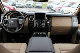 Ford F250 Platinum Interior 2015 Ford F 250 Interior Adobe Leather Ford Trucks Pinterest