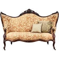 victorian sofa set designs victorian 1860 antique carved grape fruit motif rosewood sofa new