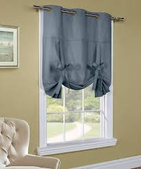Tie Up Curtain Shade Bold Inspiration Tie Up Blackout Curtains Nicetown Thermal