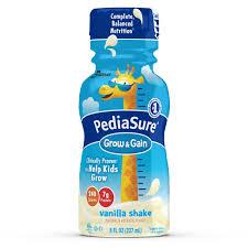 amazon com pediasure grow u0026 gain nutrition shake for kids