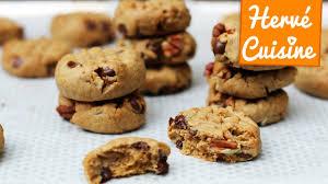 recette de cuisine cookies recette cookies vegan beurre de cacahuète et chocolat