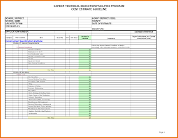 Job Cost Analysis Template by 7 Cost Estimate Template Itinerary Template Sample