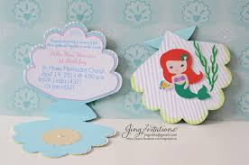 top 20 little mermaid baby shower invitations trends in 2017