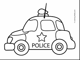 spectacular race car coloring pages printable with police coloring