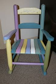 Vintage Childrens Rocking Chairs 73 Best Chalkpaint Repurposed Vintage Furniture Images On