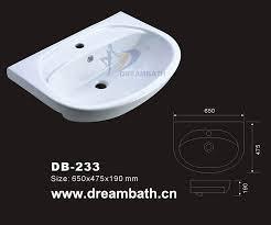 Bidet Sink Bathroom Sink Dreambath Sanitaryware Factory