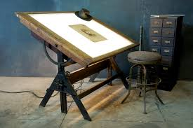 Drafting Table With Light Fantastic Drafting Table Light Box For Viewing Negatives