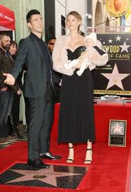 Hollywood Walk Of Fame Map Behati Prinsloo U0027s Daughter Makes First Public Appearance As Adam