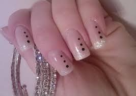 simple black dots beautiful nail art u2013 funnystack com