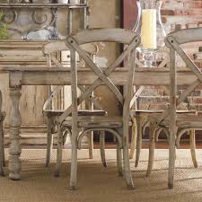 Dining Room Sets Orlando by Wakefield Rectangular Leg Dining Table With Two Tone Distressed