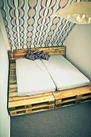 Pallet Platform Bed Platform Pallet Bed