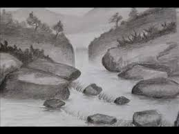 pencil shading landscapes images wmv youtube