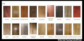 hardwood flooring colors charts and minwax hardwood floor stain colors