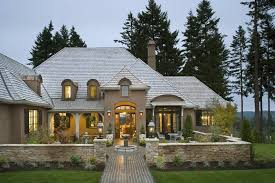 Perfect Country Modern Homes Design  Images About Exterior - French country home design