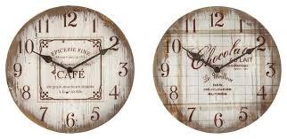 horloge murale cuisine horloge contemporaine cuisine stickoo
