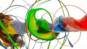 Paint by Paint Spinning Drill 4k The Slow Mo Guys Youtube