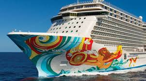 largest cruise ship in the world this is the biggest ship to ever visit antigua