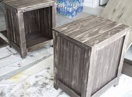 Unfinished Pine Nightstand Rustic Pine Nightstand Unfinished Painted U2014 New Decoration Build