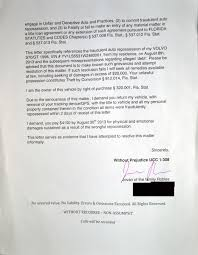 Demand Letter From Attorney Sample by Julian U0027s U0027demand Letter U0027 Response To Fraudulent Car Repossesion
