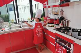 Red Kitchen Pics - little chef big heart new straits times malaysia general