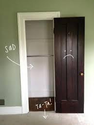 Closet Door Opening Small Closet Door Ideas Design Decoration