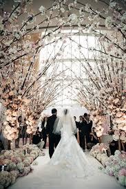 wedding arch entrance wedding wednesday a grand entrance