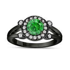 green wedding rings black and green wedding rings lake side corrals