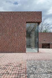 Brick House by Gallery Of Brick House In Brick Garden Jan Proksa 1