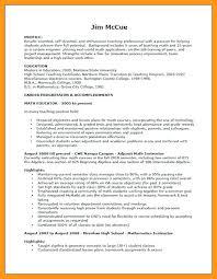 Entry Level Teacher Resume Sample Substitute Teacher Resume Resume Template For Substitute