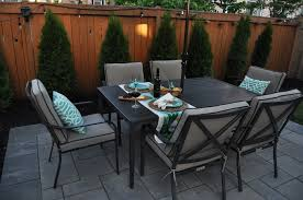 unilock paver patio and deck in bronte creek oakville on