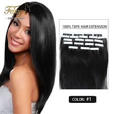 100 human hair extensions 16inch 30g hair extension 20pcs lot 100 human hair 20colors