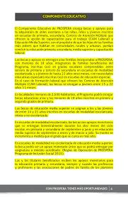 reglas de operacion prospera 2016 cuadernillo prospera