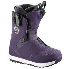 womens boots purple salomon snowboard boots s 2017 evo
