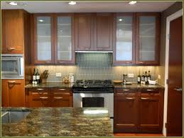 Kitchen  Amazing Glass Frosted Glass Kitchen Cabinet Door With - Amazing stainless steel kitchen cabinet doors home