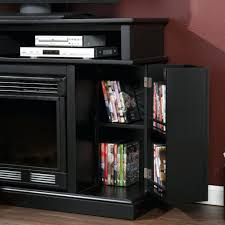 electric fireplace tv stand amazon holly media black insert